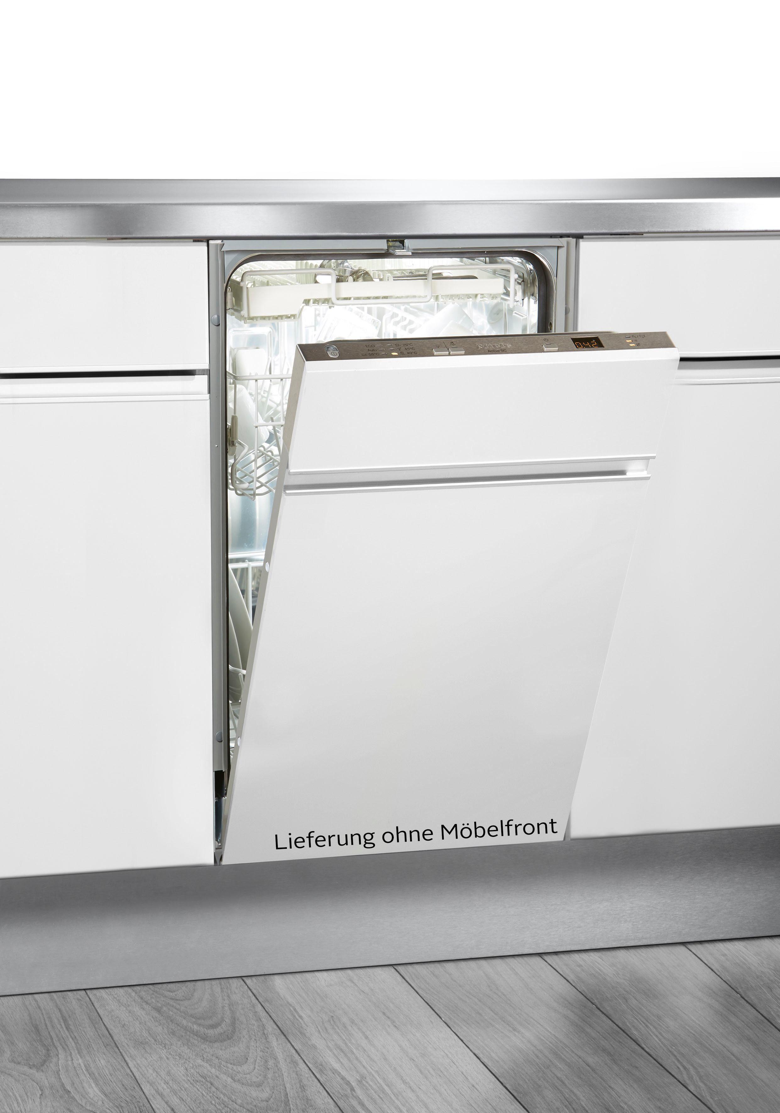 Miele vollintegrierbarer Geschirrspüler, G 4680 SCVi, 8,7 l, 9 Maßgedecke, 45 cm breit