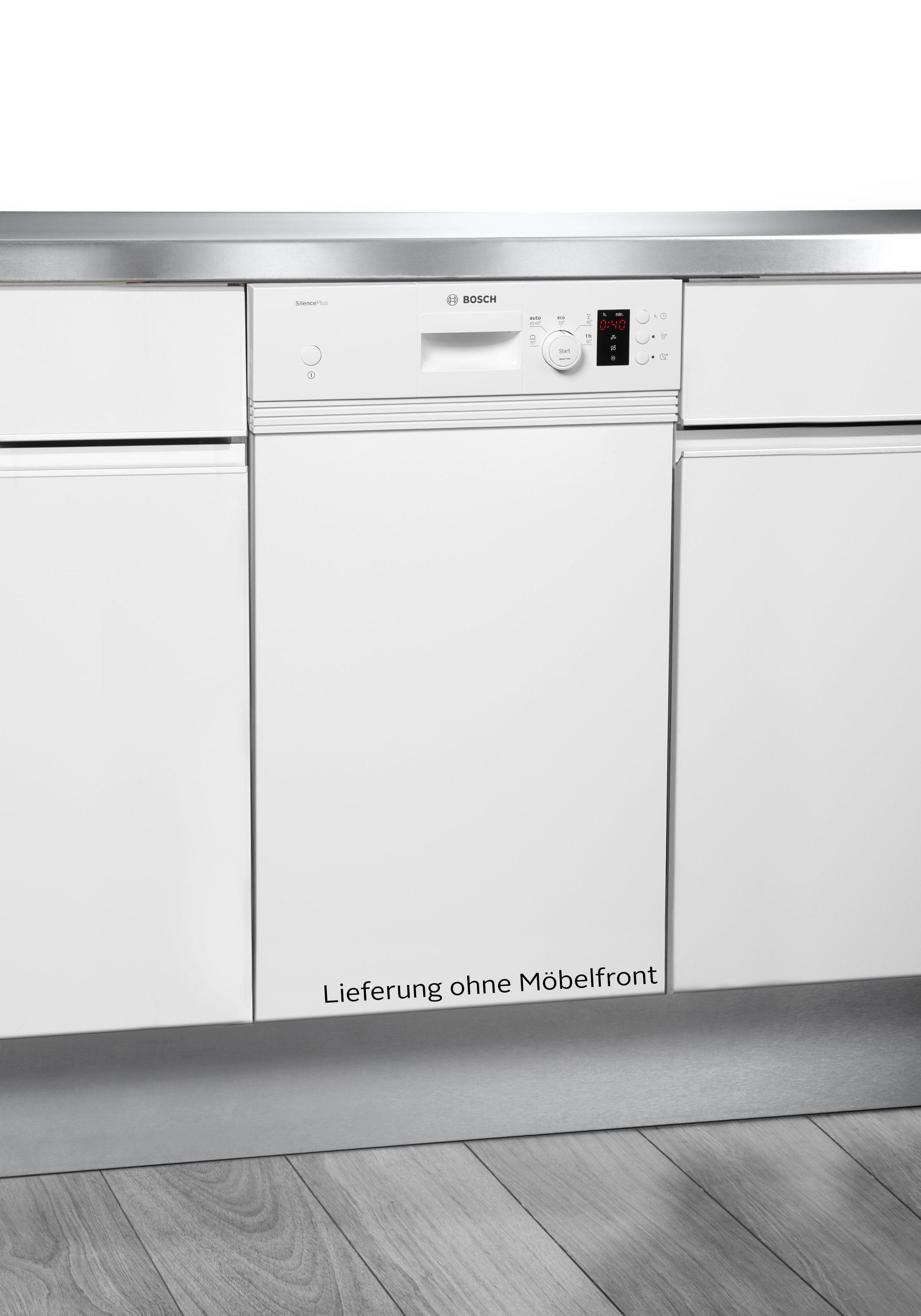 BOSCH teilintegrierbarer Geschirrspüler, SPI25CW03E, 8,5 l, 9 Maßgedecke, 45 cm breit