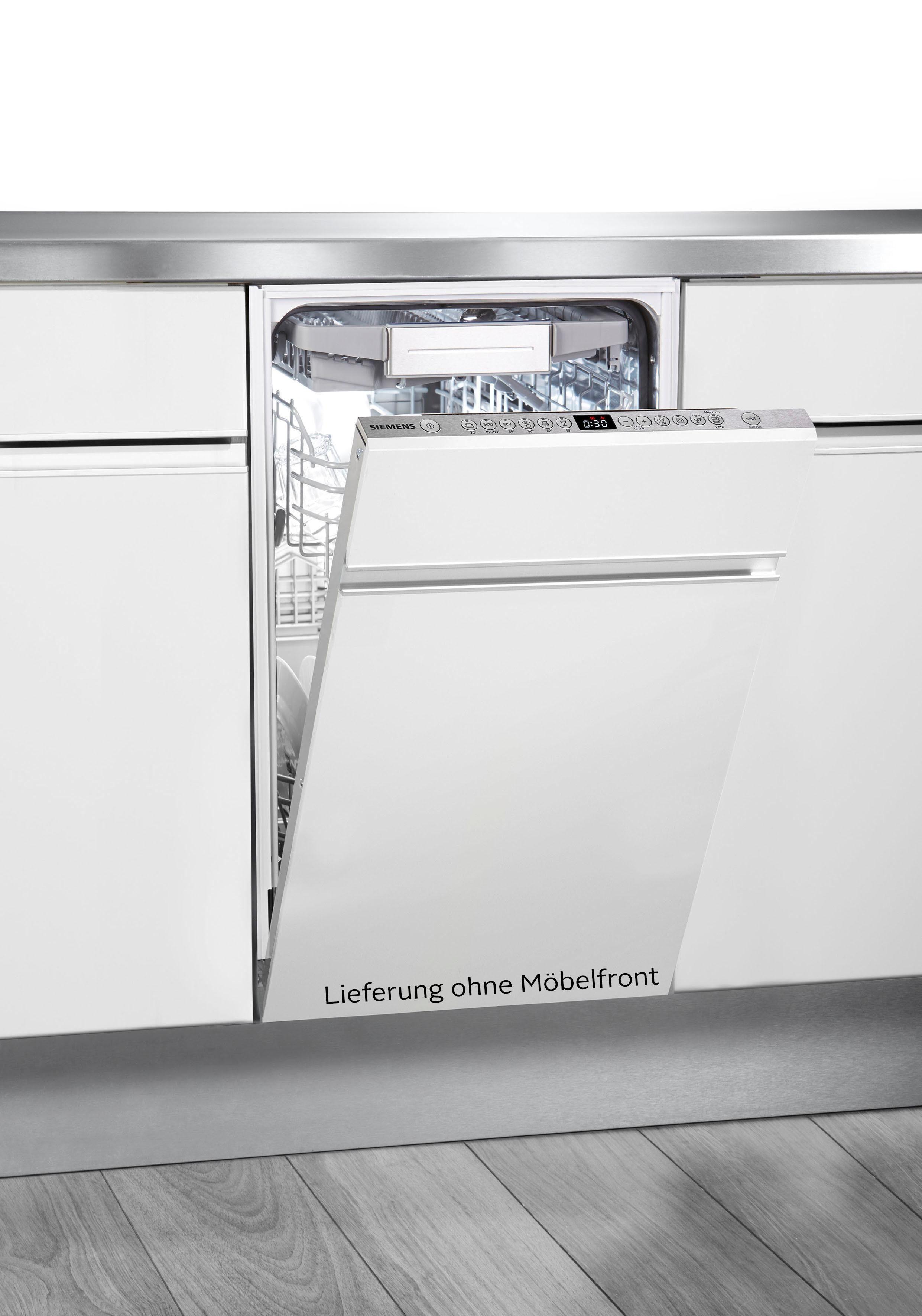 SIEMENS vollintegrierbarer Geschirrspüler iQ500, SR656X01TE, 9,5 l, 10 Maßgedecke