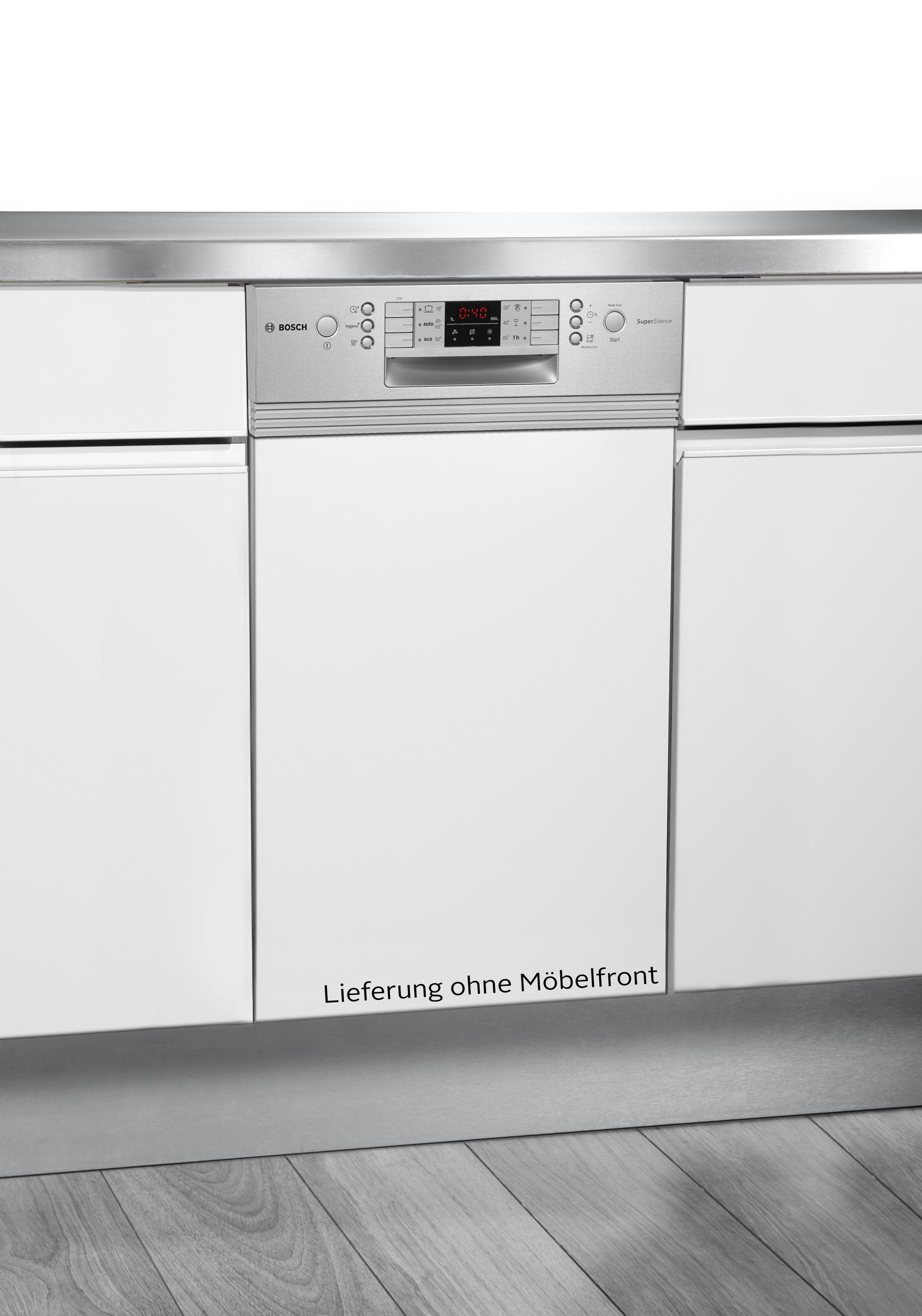 BOSCH teilintegrierbarer Geschirrspüler, SPI46MS01E, 9,5 l, 10 Maßgedecke, 45 cm breit
