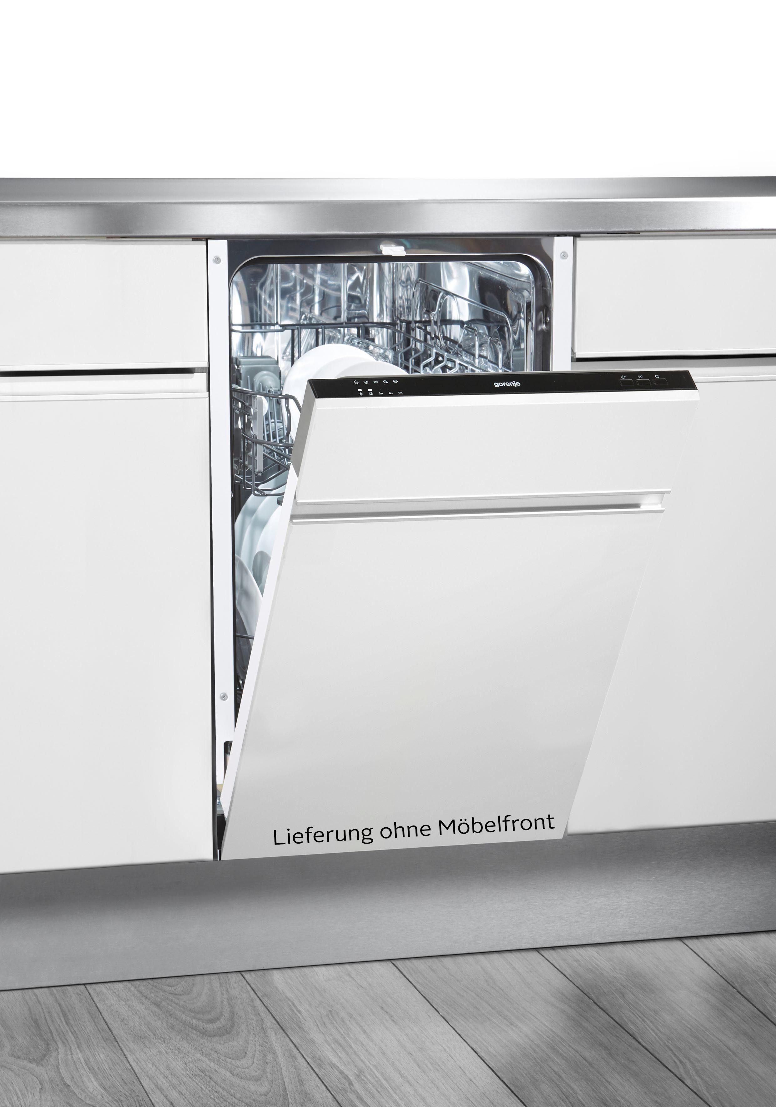 GORENJE vollintegrierbarer Geschirrspüler, GV 51010, 9 l, 9 Maßgedecke, 45 cm breit