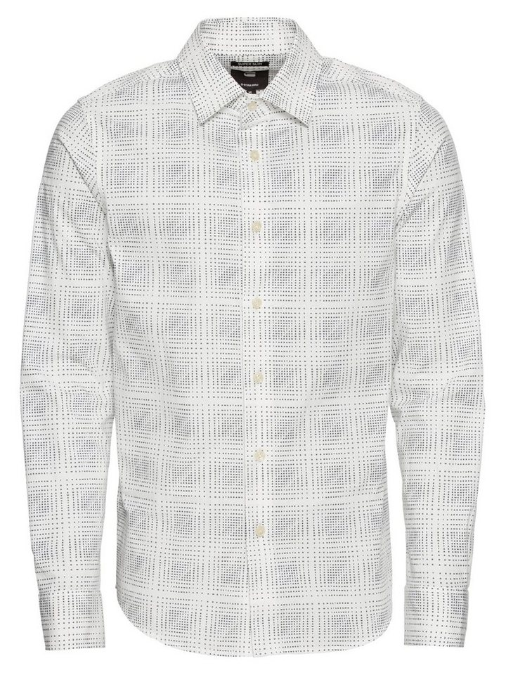 ace1572ae22 G-Star RAW Langarmhemd »Core super slim shirt l s«
