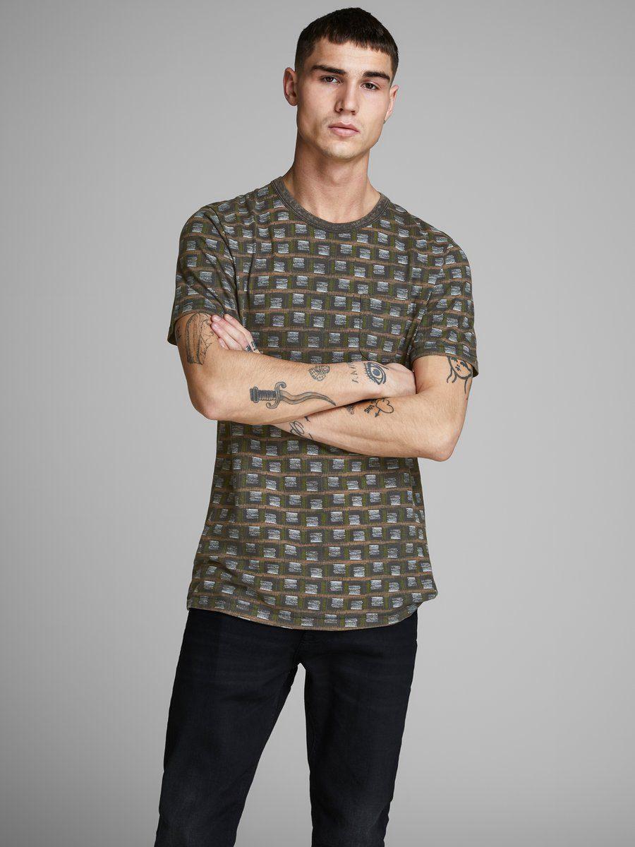 Jack & Jones Bedrucktes Slim Fit T-Shirt