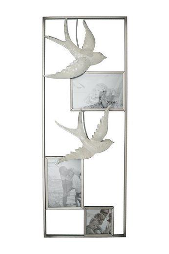 NTK-Collection Wanddeko »Bilderrahmen mit Schwalben«