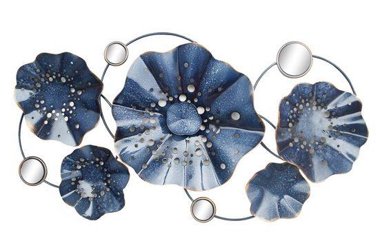 NTK-Collection Wanddeko »Silhouette Blue«