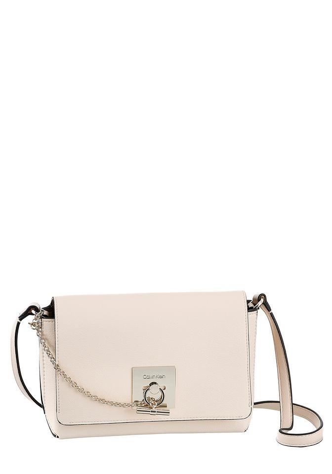 Damen Calvin Klein Umhängetasche mit modischen Kettendetails    08719115754631
