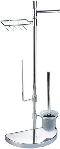 WC-Garnitur »Raumsparwunder«, WENKO, mit Ersatzrollen- und Feuchttücher-Halter