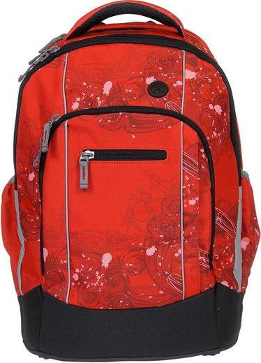 SYDERF Schulrucksack »Naps Pacific Red«