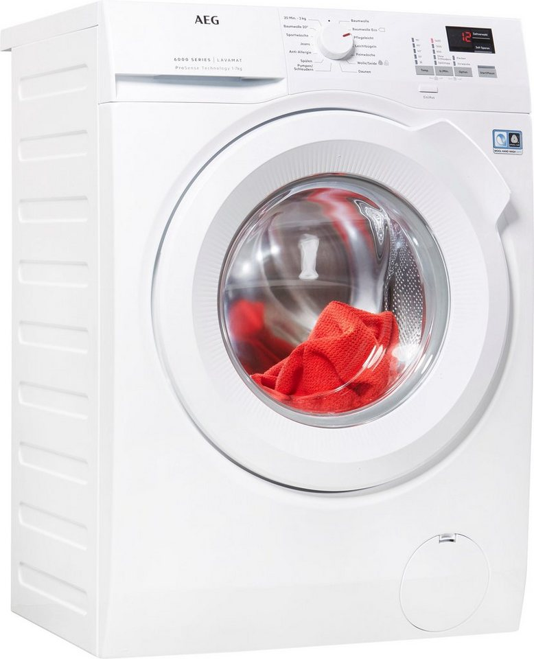 AEG Waschmaschine 6000 L6FBA474 7 Kg 1400 U Min
