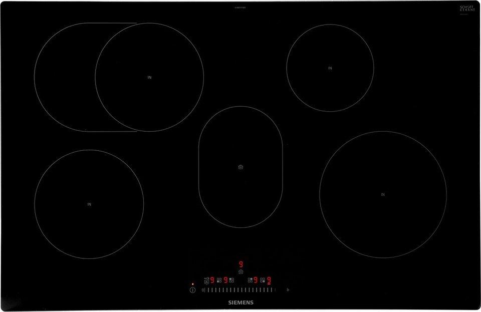 siemens induktions kochfeld von schott ceran eh801ffb1e. Black Bedroom Furniture Sets. Home Design Ideas
