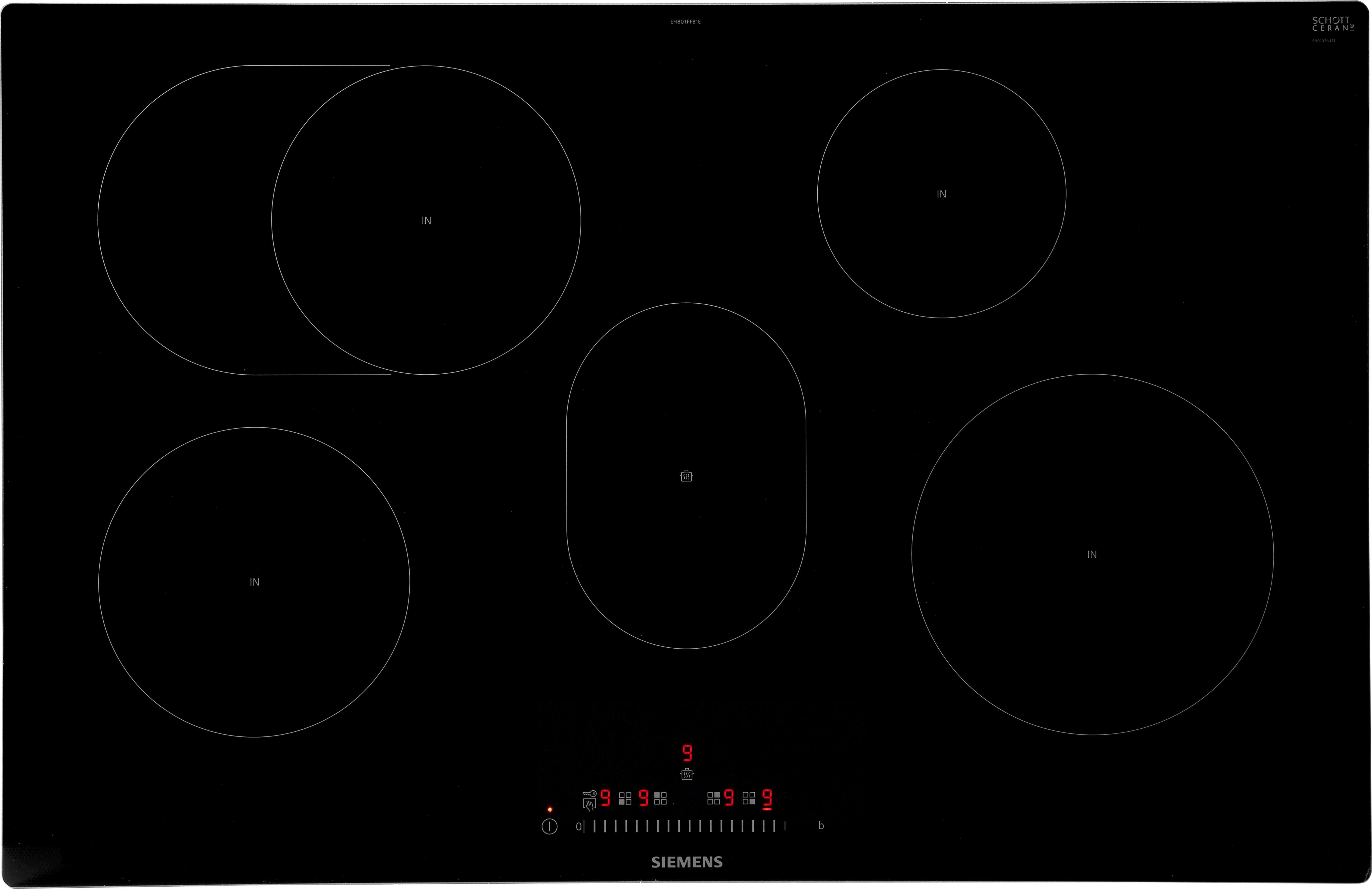 SIEMENS Induktions-Kochfeld von SCHOTT CERAN® EH801FFB1E EH801FFB1E