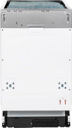 vonReiter vollintegrierbarer Geschirrspüler, VREGSP 45210E, 8 l, 10 Maßgedecke
