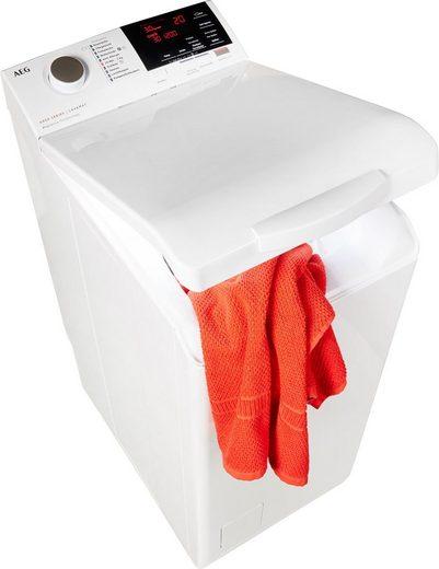 AEG Waschmaschine Toplader L6TBA664, 6 kg, 1200 U/Min, Nachlegefunktion