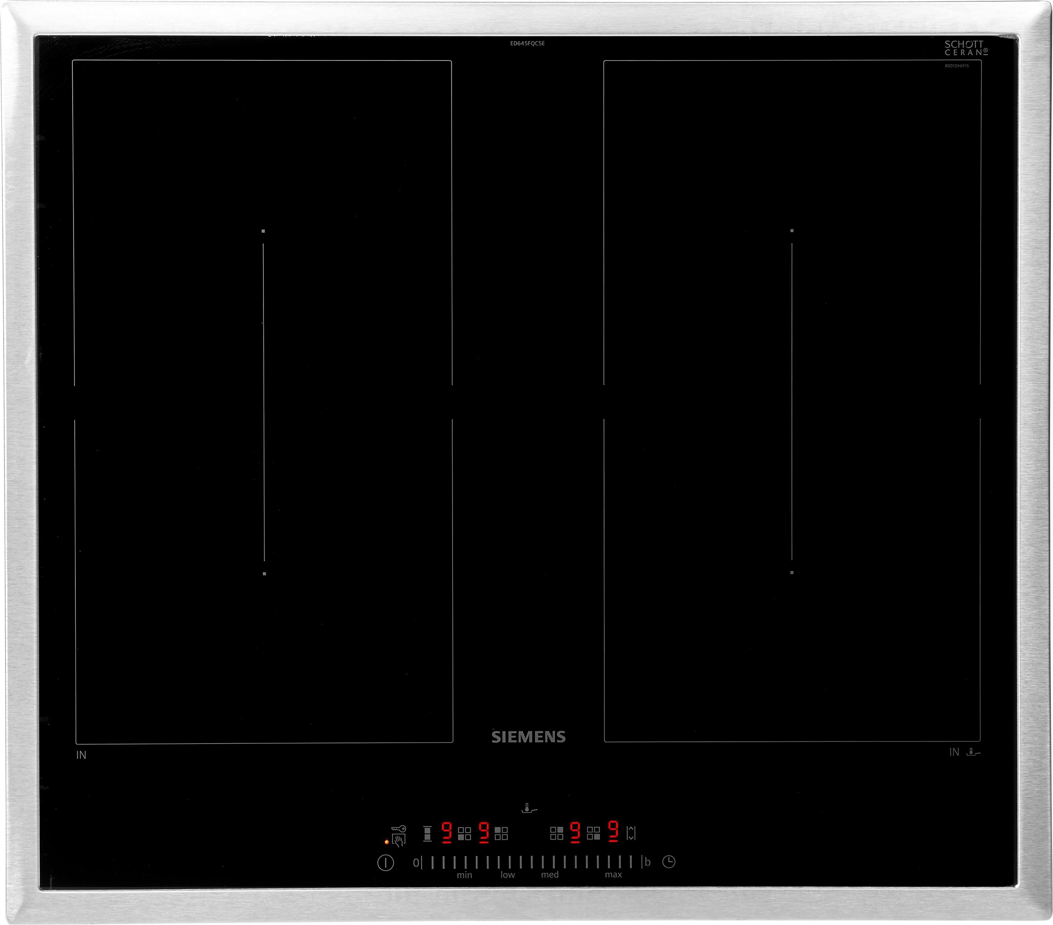 SIEMENS Flex-Induktions-Kochfeld von SCHOTT CERAN® ED645FQC5E ED645FQC5E