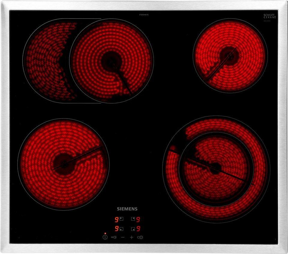 siemens elektro kochfeld von schott ceran iq300. Black Bedroom Furniture Sets. Home Design Ideas