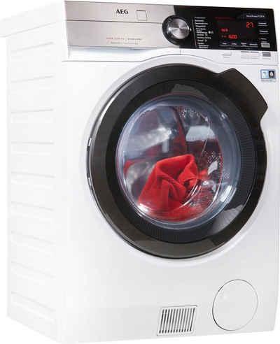 AEG Waschtrockner Serie 900 L9WE86695, 9 kg, 6 kg, 1600 U/min, Energieeffizienzklasse Wasch-Zyklus C, mit SensiDry - Technologie