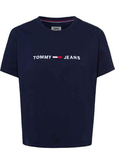 TOMMY JEANS T-Shirt in leicht verkürzter Form cd8cae23e1