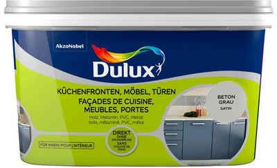 Dulux Holzlack »Fresh Up«, für Küchen, Möbel und Türen, beton grau, 2 l