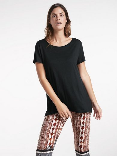 heine CASUAL Shirt mit asymmetrischer Naht