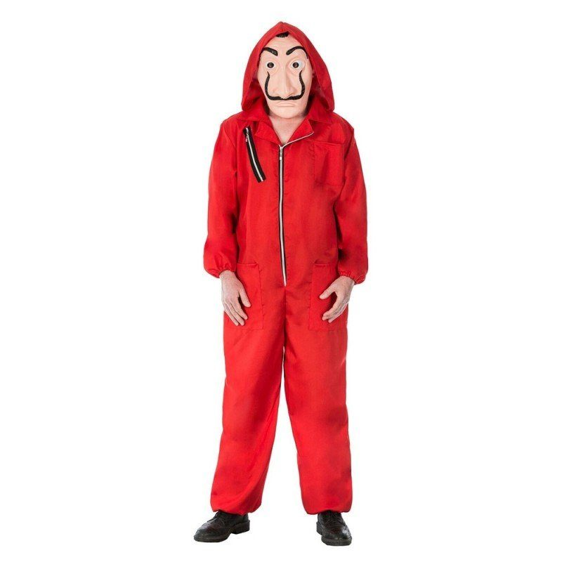 Unisex Haus des Geldes Meisterdieb Kostüm rot | 03661652070161