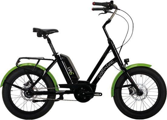 corratec E-Bike »Life Sunny Active 400 LTD«, 7 Gang Shimano Nexus 7 Schaltwerk, Nabenschaltung, Mittelmotor 250 W