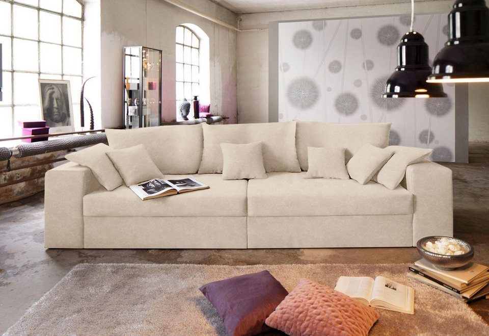 nova via big sofa wahlweise in xl oder xxl kaufen otto. Black Bedroom Furniture Sets. Home Design Ideas