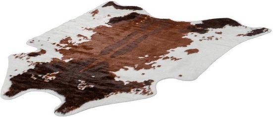 Teppich »Rodeo 201«, LALEE, fellförmig, Höhe 17 mm