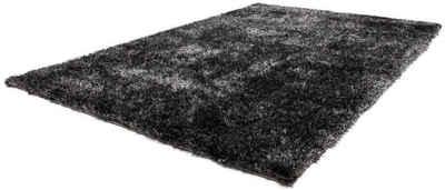 Hochflor-Teppich »Twist 600«, LALEE, rechteckig, Höhe 32 mm, besonders weich durch Microfaser, Wohnzimmer