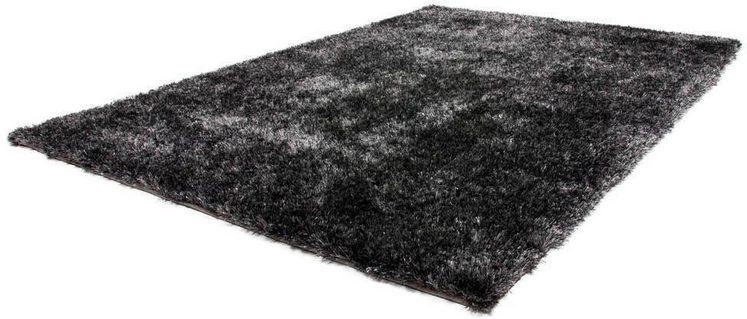 Hochflor-Teppich »Twist 600«, LALEE, rechteckig, Höhe 32 mm, besonders weich durch Microfaser