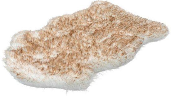 Hochflor-Teppich »Softa 800«, LALEE, fellförmig, Höhe 52 mm, besonders weich durch Microfaser