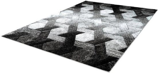 Teppich »Swing 101«, LALEE, rechteckig, Höhe 14 mm
