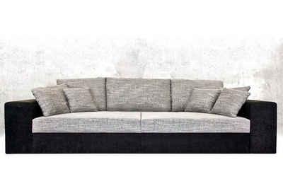 Nova Via Big-Sofa »Corona«, wahlweise mit Kaltschaum (140kg Belastung/Sitz) und Bettfunktion