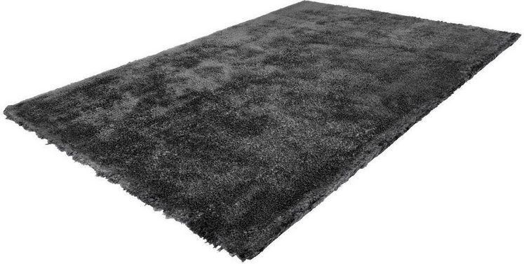Hochflor-Teppich »Cloud 500«, LALEE, rechteckig, Höhe 32 mm, Besonders weich durch Microfaser