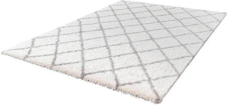 Hochflor-Teppich »Loft 300«, LALEE, rechteckig, Höhe 32 mm