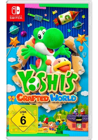 NINTENDO SWITCH Yoshi?s Crafted World Nintendo Šakotuv...
