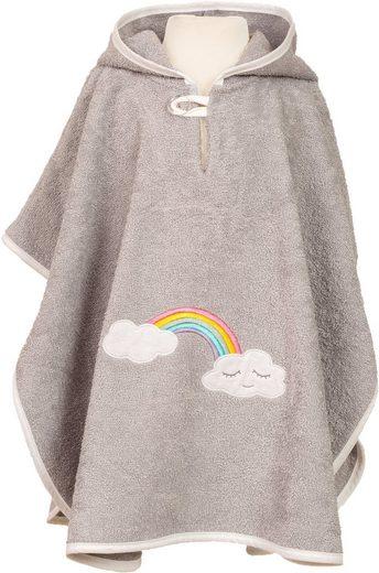 Smithy Badeponcho für Kinder »Wolke«