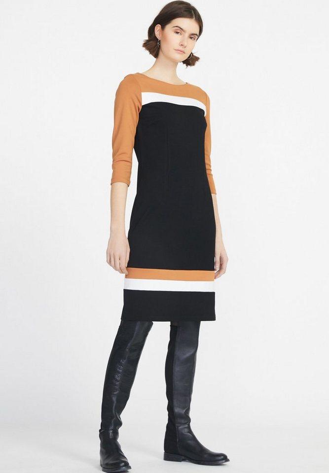 728202c51b410b Peter Hahn Jerseykleid »Kleid mit 3 4-Arm« Streifendesign online ...