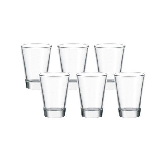 LEONARDO Stamper/Wodka, 6er-Set »Ciao+«