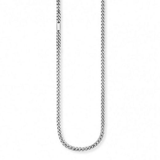 CAÏ Collier »925/- Sterling Silber rhodiniert Struktur«