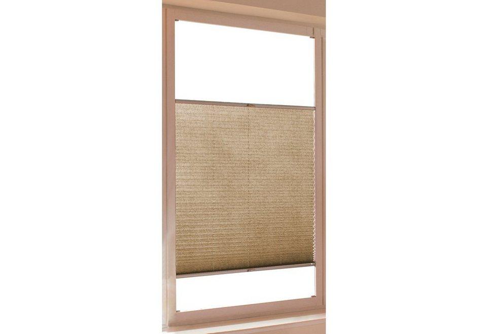 plissee sunlines crush optik faltenstore silbernes. Black Bedroom Furniture Sets. Home Design Ideas