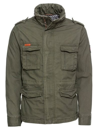 Superdry Cargojacke »CLASSIC ROOKIE MILITARY JACKET«