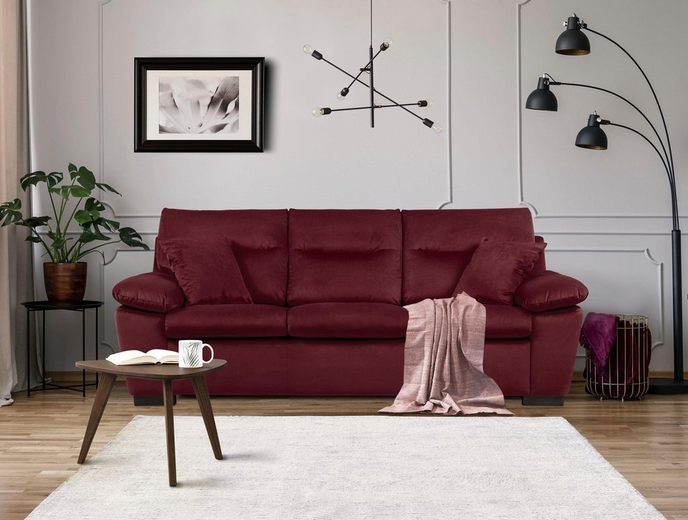 Home affaire 3-Sitzer »Sofie«, in klassisch-modernem Design