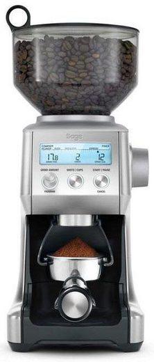 Sage Kaffeemühle SAGE Kaffeemühle »The Smart Grinder Pro, SCG820BSS4EEU1«, 165 W, Kegelmahlwerk, 450 g Bohnenbehälter, Edelstahl Kegelmahlwerk