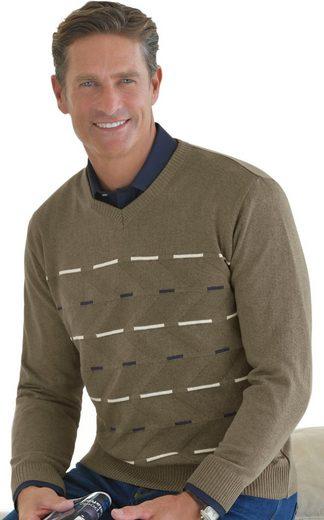 Classic Pullover mit gefälligem Strickmuster