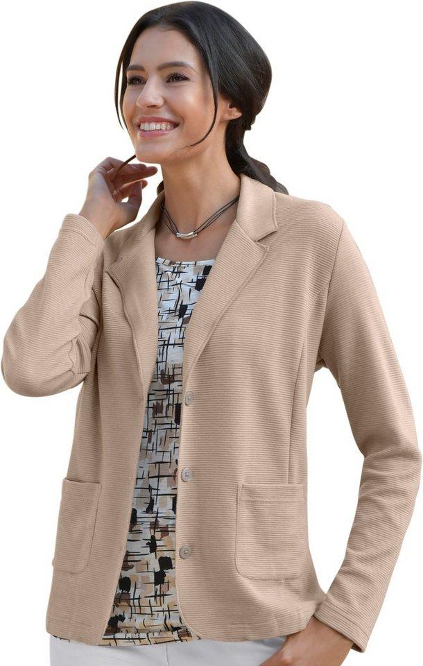 1e818db13f2c Jersey-Blazer mit Reverskragen online kaufen | OTTO