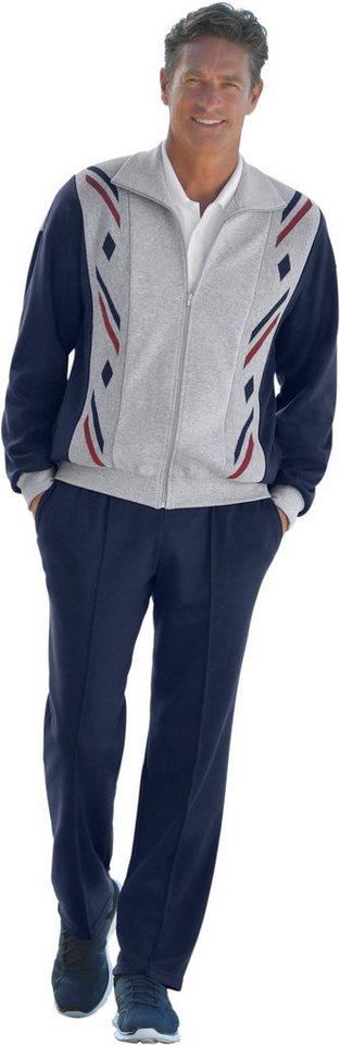 Plantier Freizeitanzug mit markanten Kontrasten   Sportbekleidung > Sportanzüge > Freizeitanzüge   Grau   Plantier