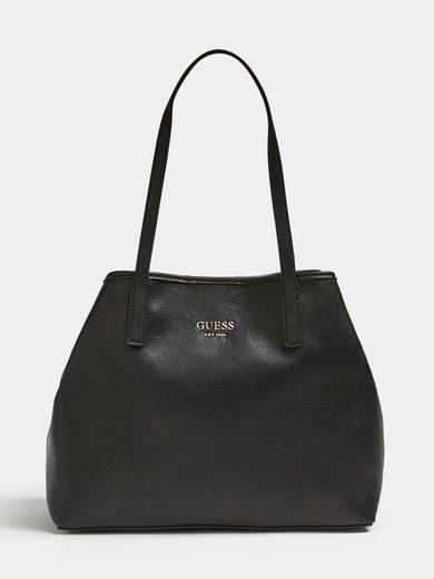 Guess Henkeltasche, mit prakitscher, herausnehmbarem Reißverschlusstasche