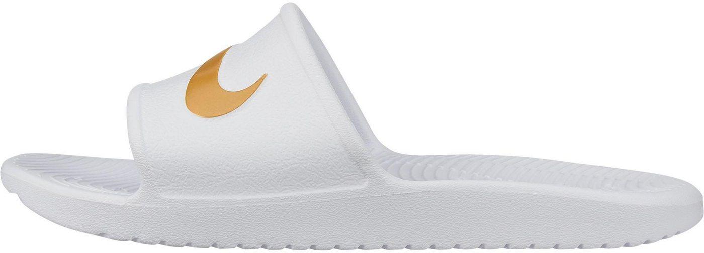 Damen Nike Sportswear »Wmns Kawa Shower Sandal« Badesandale rosa, schwarz, weiß | 00193145294844