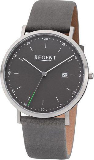 Regent Quarzuhr »30242SS, F1142«