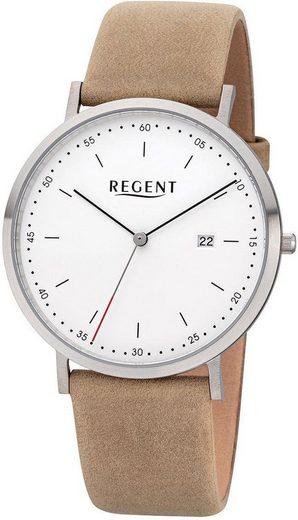 Regent Quarzuhr »30242SS, F1140«
